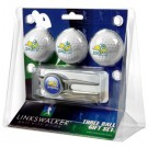 South Dakota State Jackrabbits 3 Ball Golf Gift Pack with Kool Tool