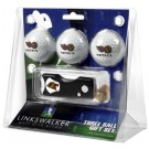 San Diego State Aztecs 3 Golf Ball Gift Pack with Spring Action Tool