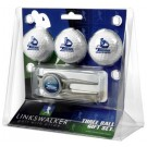 San Diego Toreros 3 Ball Golf Gift Pack with Kool Tool