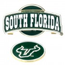 South Florida Bulls Slider Clip with Golf Ball Marker (Set of 3)