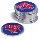 Southern Methodist (SMU) Mustangs Golf Ball Marker (12 Pack)