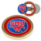 Southern Methodist (SMU) Mustangs Challenge Coin with Ball Markers (Set of 2)