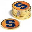 Syracuse Orangemen Golf Ball Marker (12 Pack)