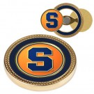 Syracuse Orangemen Challenge Coin with Ball Markers (Set of 2)