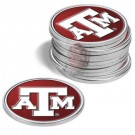 Texas A & M Aggies Golf Ball Marker (12 Pack)
