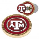 Texas A & M Aggies Challenge Coin with Ball Markers (Set of 2)