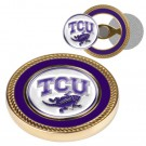 Texas Christian Horned Frogs Challenge Coin with Ball Markers (Set of 2)