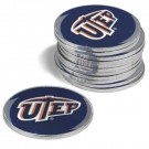 UTEP Texas (El Paso) Miners Golf Ball Marker (12 Pack)