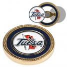 Tulsa Golden Hurricane Challenge Coin with Ball Markers (Set of 2)