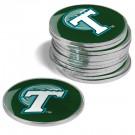 Tulane Green Wave Golf Ball Marker (12 Pack)