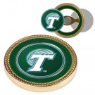 Tulane Green Wave Challenge Coin with Ball Markers (Set of 2)