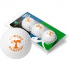 Tennessee Volunteers Top Flite XL Golf Balls 3 Ball Sleeve (Set of 3)