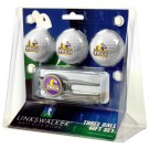 Tennessee Tech Golden Eagles 3 Ball Golf Gift Pack with Kool Tool