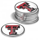 Texas Tech Red Raiders Golf Ball Marker (12 Pack)