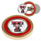 Texas Tech Red Raiders Challenge Coin with Ball Markers (Set of 2)
