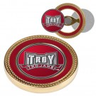 Troy State Trojans Challenge Coin with Ball Markers (Set of 2)