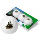 UCF (Central Florida) Knights Top Flite XL Golf Balls 3 Ball Sleeve (Set of 3)