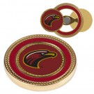 Louisiana (Monroe) Warhawks Challenge Coin with Ball Markers (Set of 2)