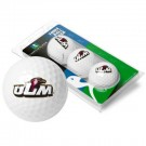 Louisiana (Monroe) Warhawks 3 Golf Ball Sleeve (Set of 3)