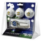 Montana State Bobcats 3 Ball Golf Gift Pack with Kool Tool