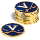 Virginia Cavaliers Golf Ball Marker (12 Pack)
