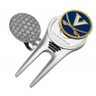 Virginia Cavaliers Divot Tool Hat Clip with Golf Ball Marker (Set of 2)