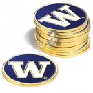 Washington Huskies Golf Ball Marker (12 Pack)