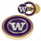 Washington Huskies Challenge Coin with Ball Markers (Set of 2)