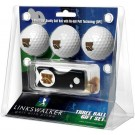 Western Michigan Broncos 3 Golf Ball Gift Pack with Spring Action Tool