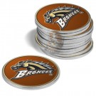 Western Michigan Broncos Golf Ball Marker (12 Pack)