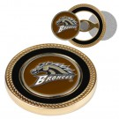 Western Michigan Broncos Challenge Coin with Ball Markers (Set of 2)