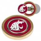 Washington State Cougars Challenge Coin with Ball Markers (Set of 2)