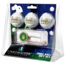 Wright State Raiders 3 Golf Ball Gift Pack with Cap Tool