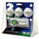 Wright State Raiders 3 Ball Golf Gift Pack with Kool Tool