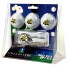 Wichita State Shockers 3 Ball Golf Gift Pack with Kool Tool
