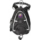 Weber State Wildcats Black Mini Day Pack (Set of 2)