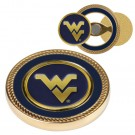 West Virginia Mountaineers Challenge Coin with Ball Markers (Set of 2)