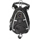West Virginia Mountaineers Black Mini Day Pack (Set of 2)