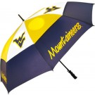 "West Virginia Mountaineers 62"" Golf Umbrella"