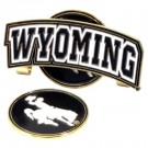 Wyoming Cowboys Slider Clip with Golf Ball Marker (Set of 3)