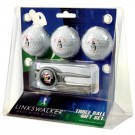 Youngstown State Penguins 3 Ball Golf Gift Pack with Kool Tool