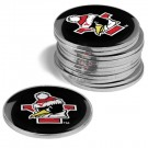 Youngstown State Penguins Golf Ball Marker (12 Pack)