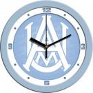 "Alabama A & M Bulldogs 12"" Blue Wall Clock"