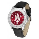 Alabama A & M Bulldogs Competitor AnoChrome Men's Watch with Nylon/Leather Band