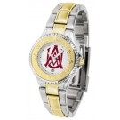 Alabama A & M Bulldogs Competitor Ladies Watch with Two-Tone Band