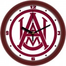 "Alabama A & M Bulldogs Traditional 12"" Wall Clock"
