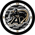 "Army Black Knights 12"" Dimension Wall Clock"