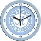 "Alabama Crimson Tide 12"" Blue Wall Clock"