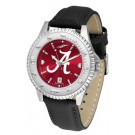 Alabama Crimson Tide Competitor AnoChrome Men's Watch with Nylon/Leather Band
