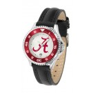 Alabama Crimson Tide  Competitor Ladies Watch with Leather Band